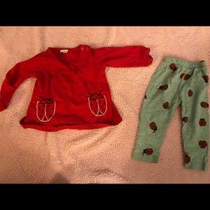 Other - Baby girls lady bug outfit